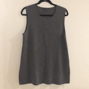 Eileen Fisher Scoop Neck Tunic Shell size M